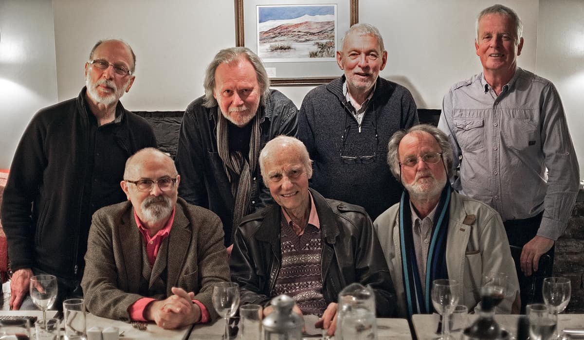 BSC members and Friend of the BSC, Martin Hammond, in Hay-on-Wye