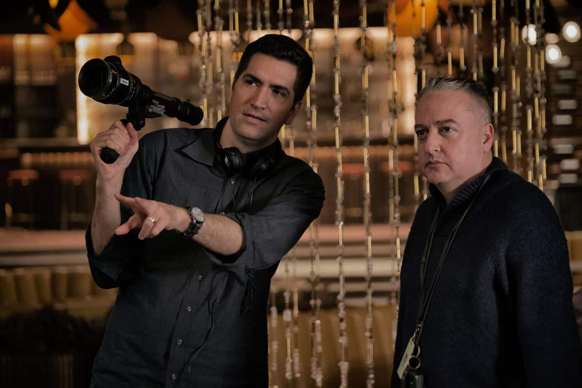 Director Drew Goddard and Seamus McGarvey BSC ASC