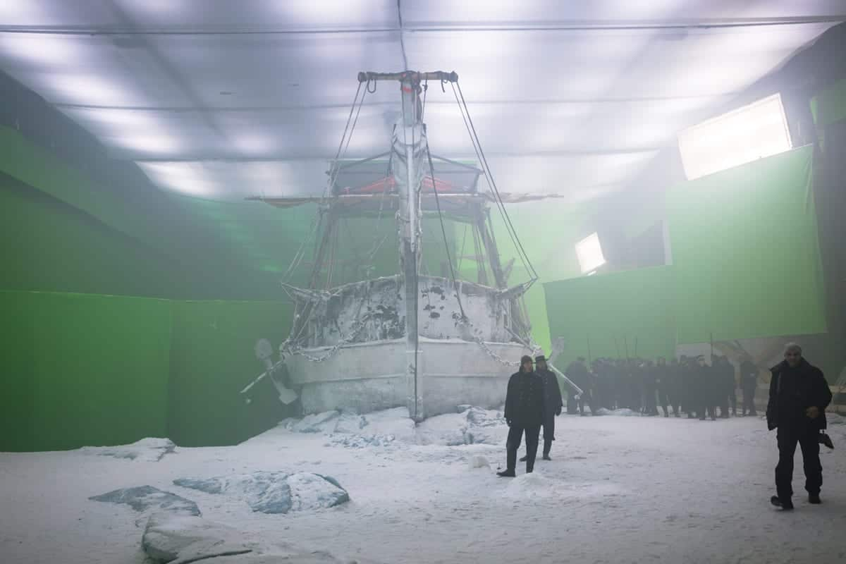 BTS - The Terror _ Season 1, Episode 4 - Photo Credit: Aidan Monaghan/AMC