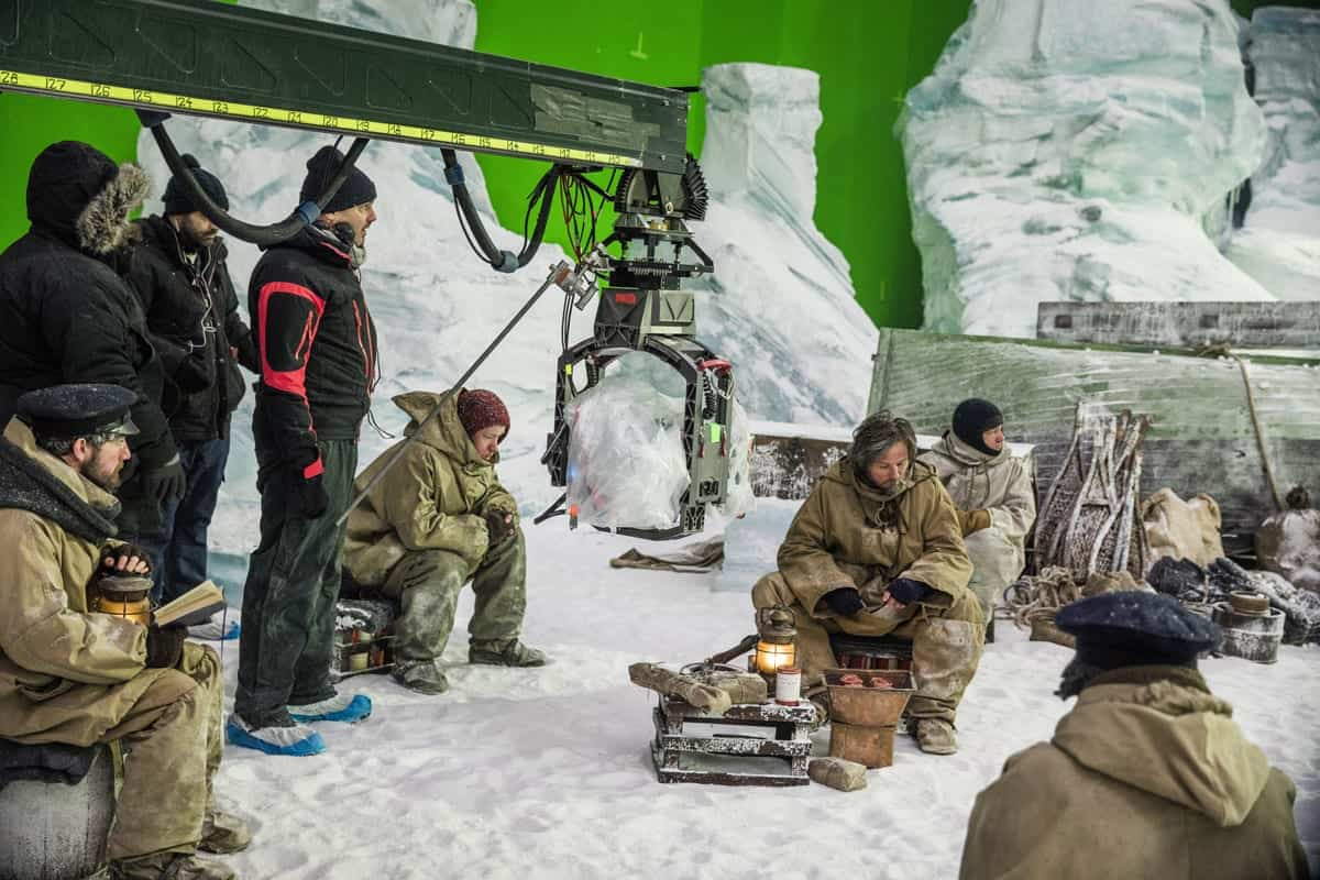 BTS, Anthony Flanagan as Morfin - The Terror _ Season 1, Episode 2 - Photo Credit: Aidan Monaghan/AMC