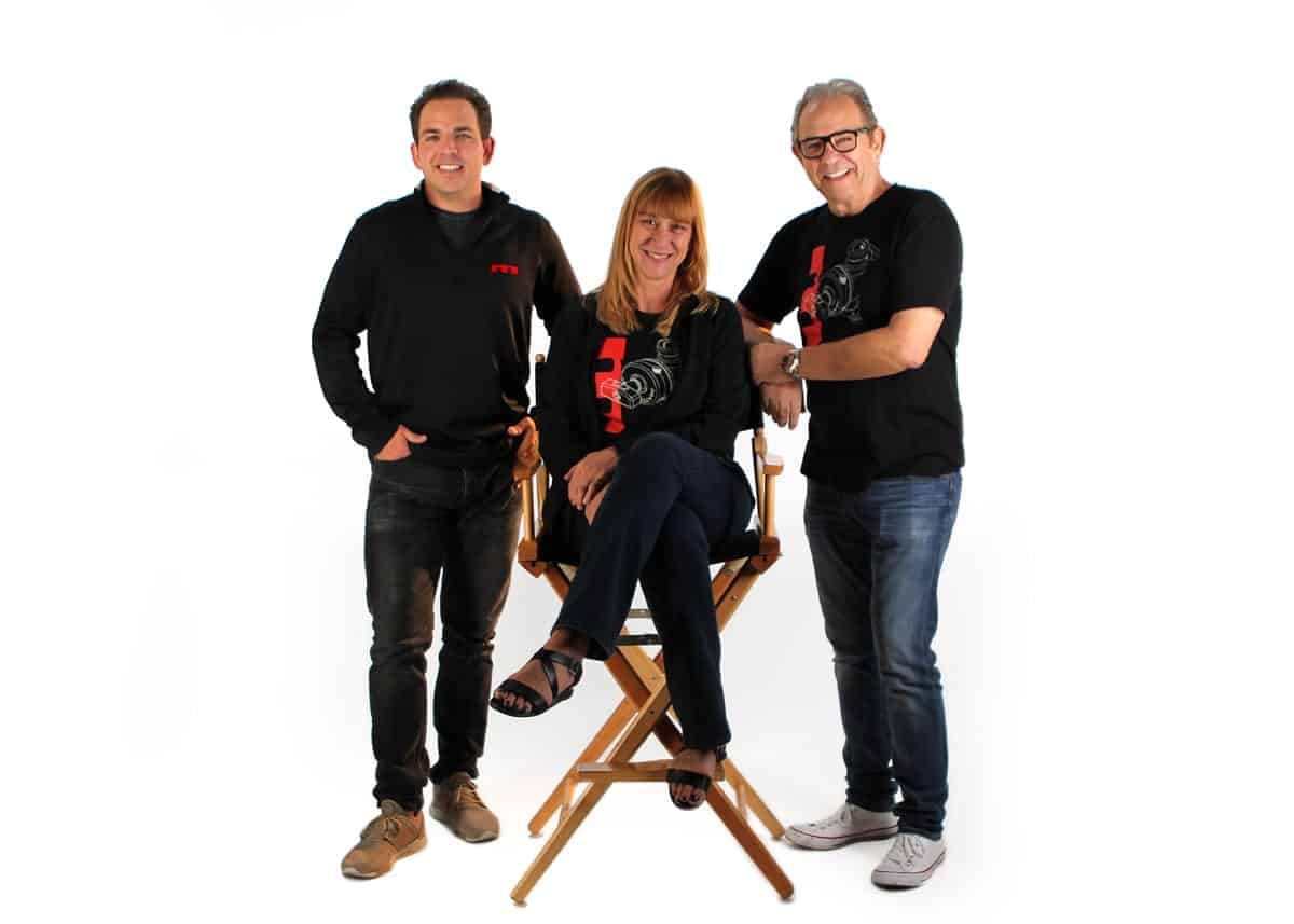 Matthews Studio Equipment: Linda Swope with Tyler and Ed Phillips