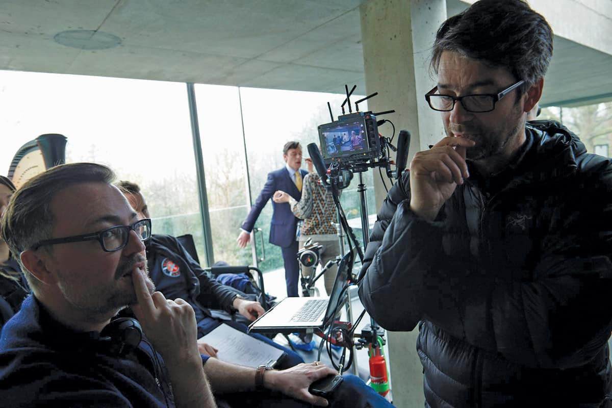 Director Jamie Payne with DP John Pardue BSC
