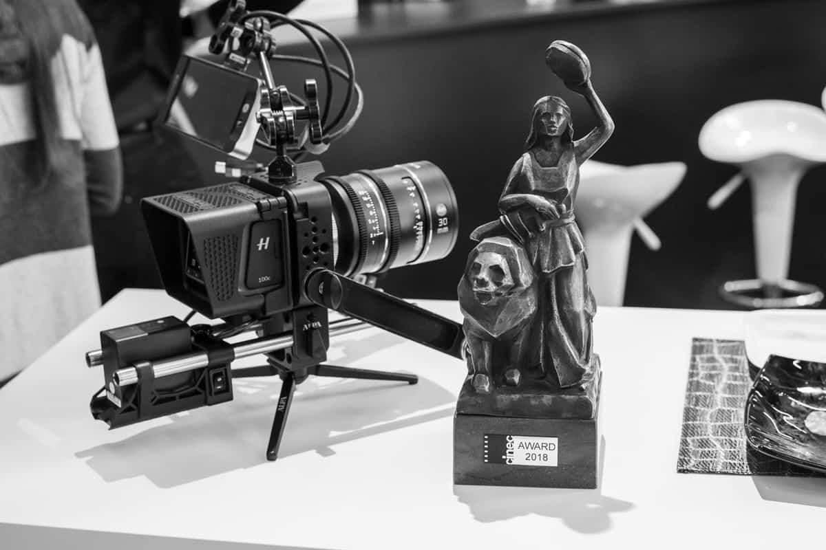 A winner at Cinec 2018 for the Platon 65mm Cinema Camera System