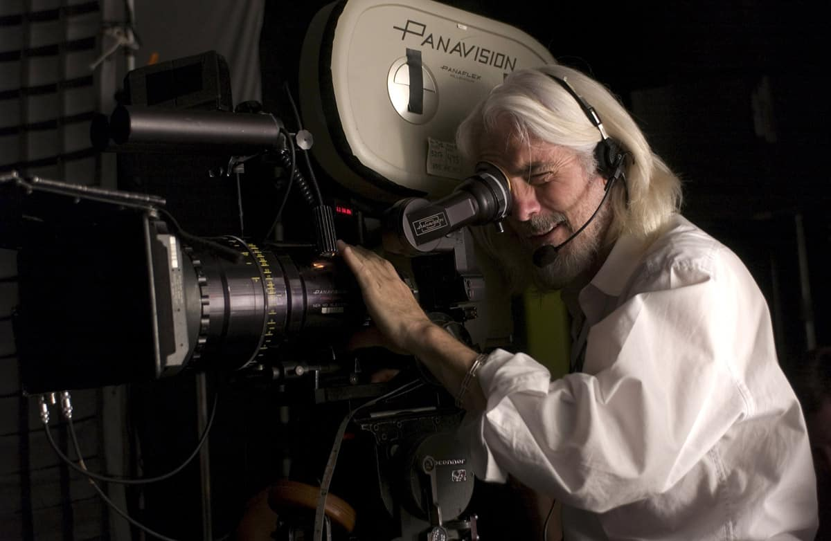 Cinematographer Robert Richardson, ASC shoots a scene for <em>The Good Shepherd</em>. Photo by Andrew D. Schwartz, SMPSP