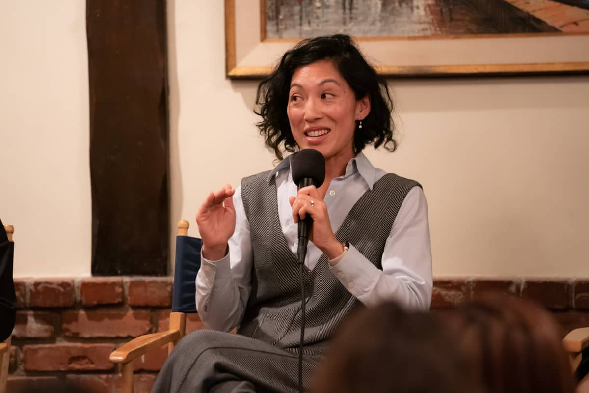 Quyen Tran recounts her experiences as a DP. Photo by Ashly Covington