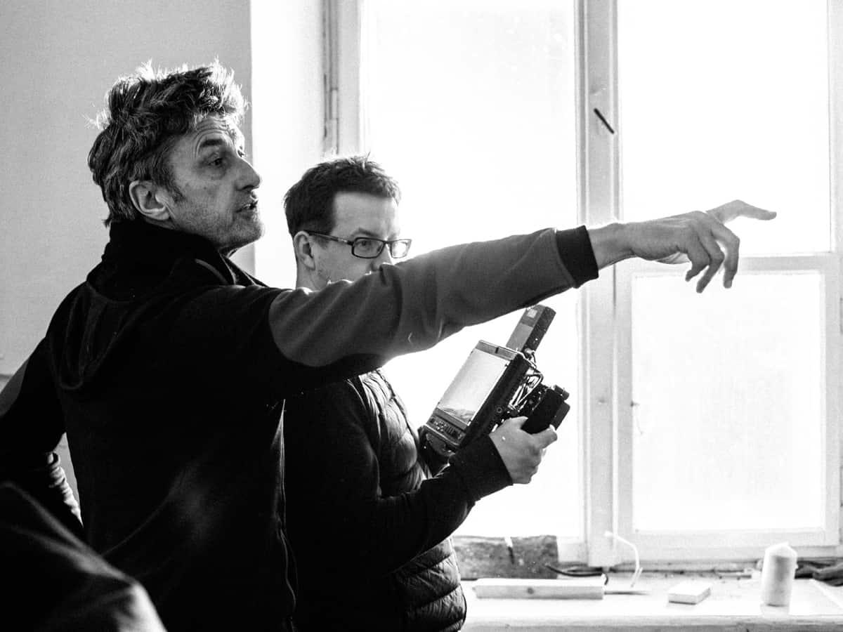 Director Paweł Pawlikowski and DP Łukasz Żal PSC. c/o Amazon Studios
