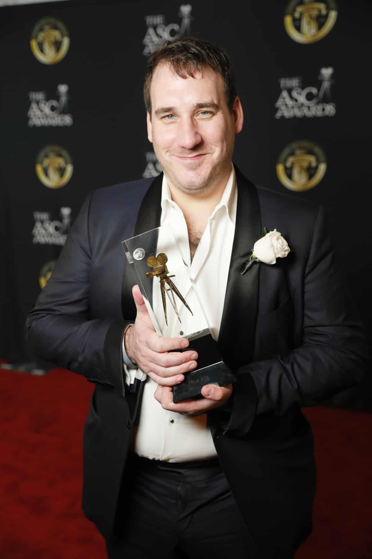 James Friend BSC and his ASC Award for <em>Patrick Melrose</em>