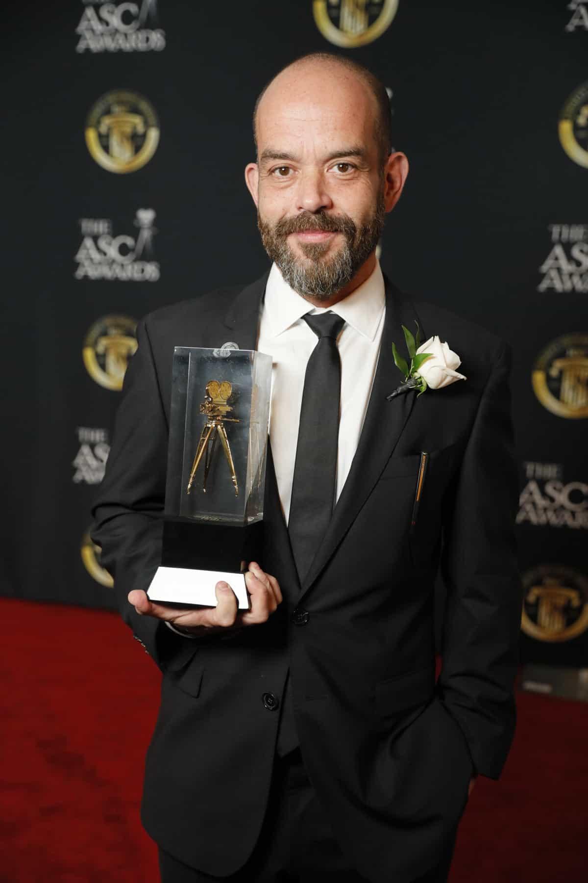 Adriano Goldman BSC ASC took the ASC accolade for <em>The Crown</em>