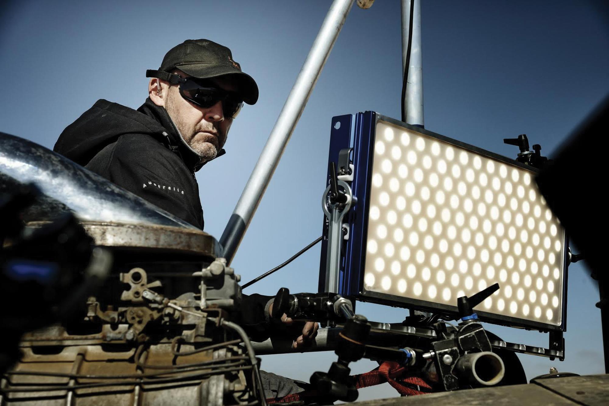 Gaffer Shaun Conway on <em>Mad Max: Fury Road</em>