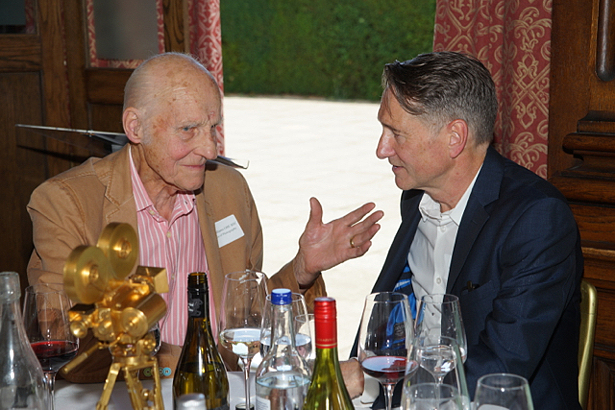 A fascinating exchange between Billy WIlliams OBE BSC and Mike Eley BSC at the 2018 BSC Summer Lunch