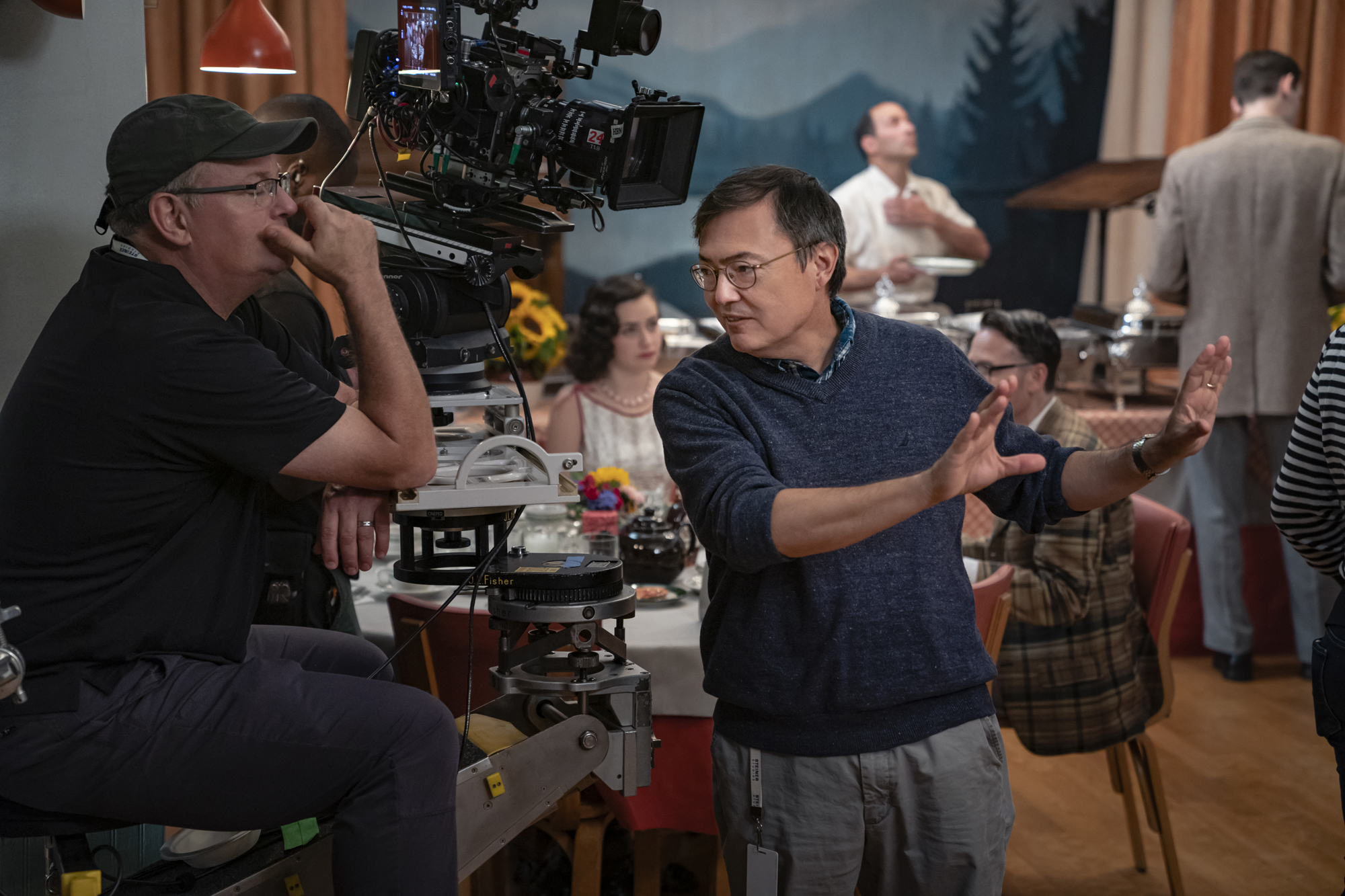 M. David Mullen ASC has been nominated for <em>The Marvelous Mrs. Maisel</em>. Credit: Nicole Rivelli