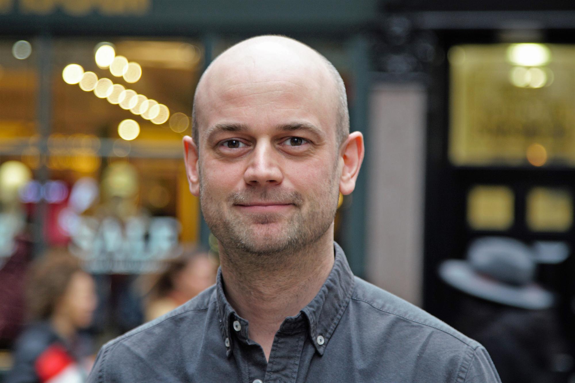 Senior Colourist at Molinare, Gareth Spensley