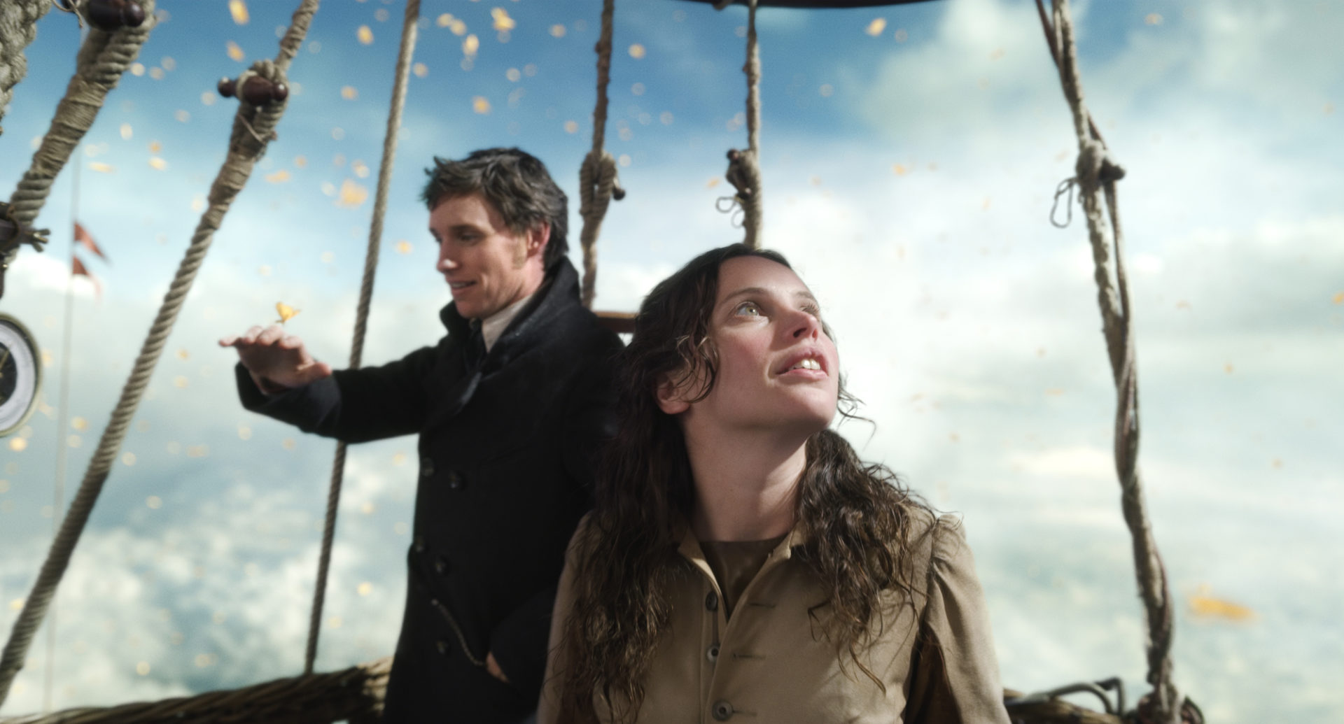 Eddie Redmayne and Felicity Jones star in The Aeronauts