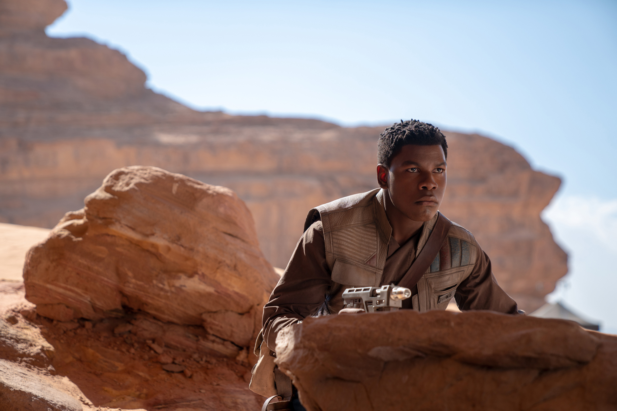 John Boyega is Finn in STAR WARS:  RISE OF SKYWALKER.