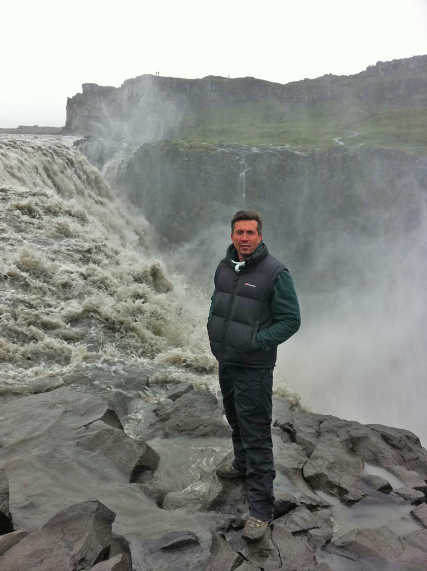 <em>Prometheus</em> (2011) at Detifoss Waterfall, Iceland