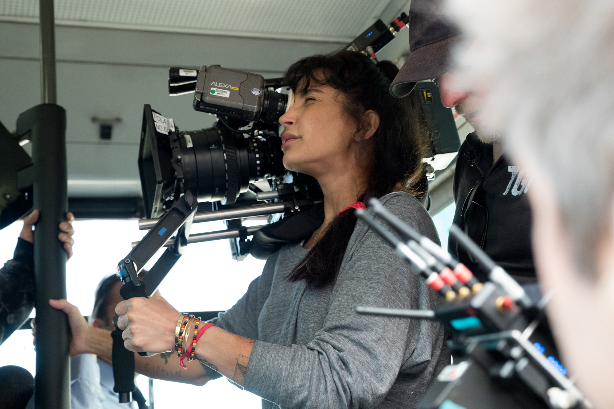 """Director Reed Morano on the set of Paramount Pictures' """"The Rhythm Section."""""""
