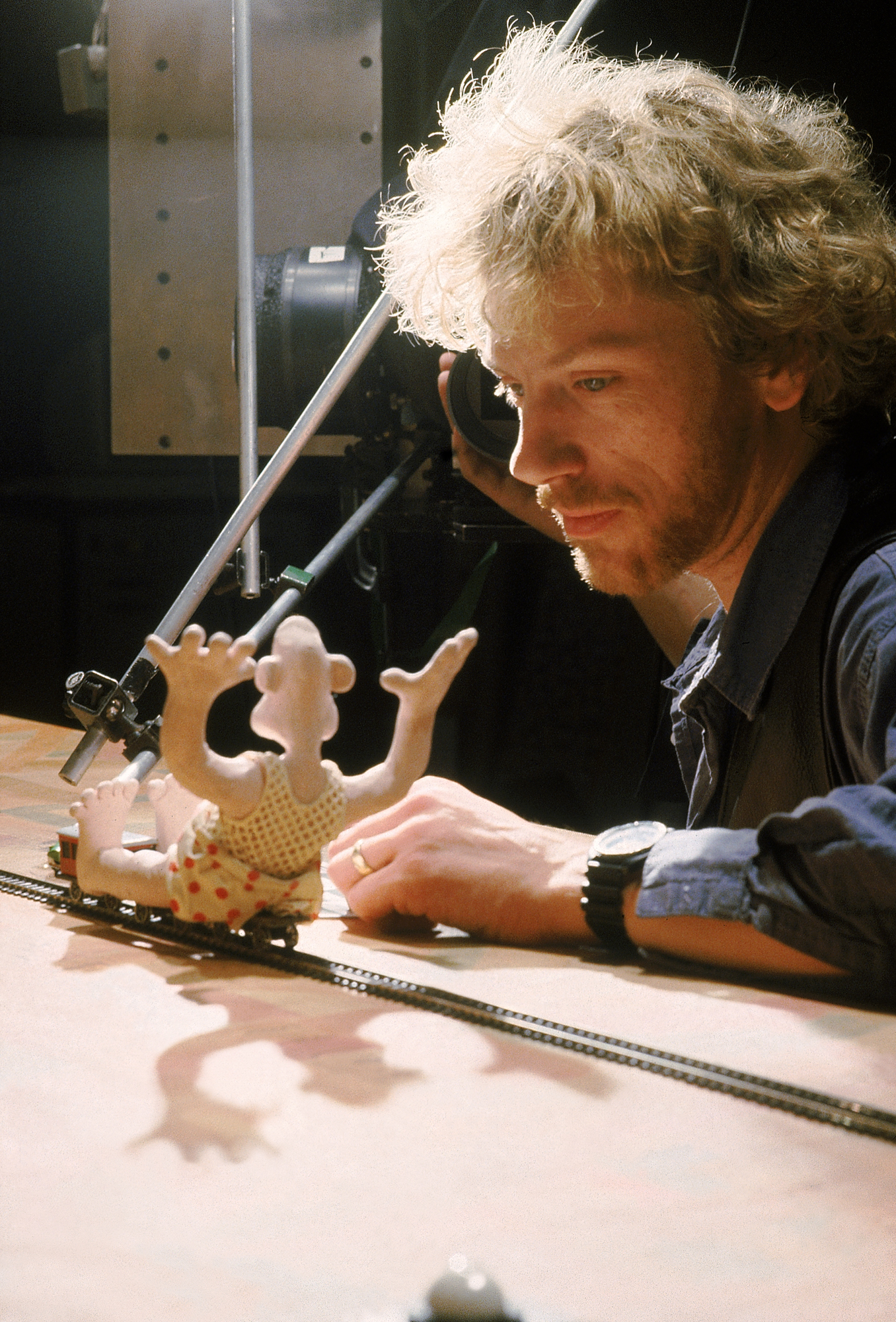 On the model train sequence of Wallace & Gromit's <em>The Wrong Trousers</em>