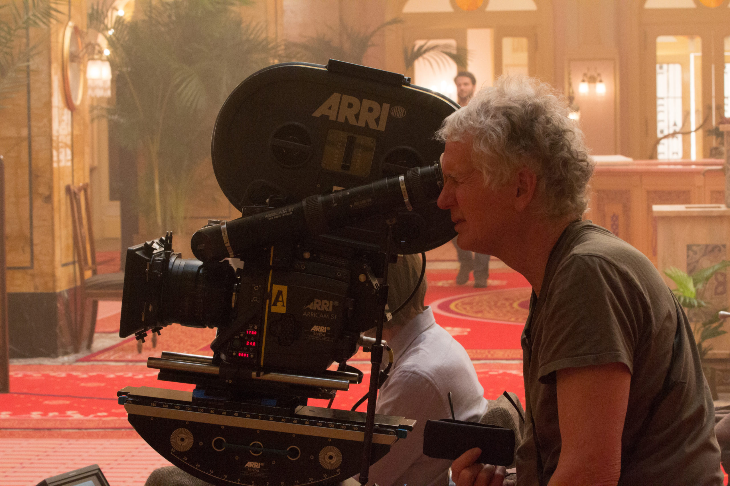 Oscar-nominee Robert Yeoman ASC on the set of The Grand Budapest Hotel