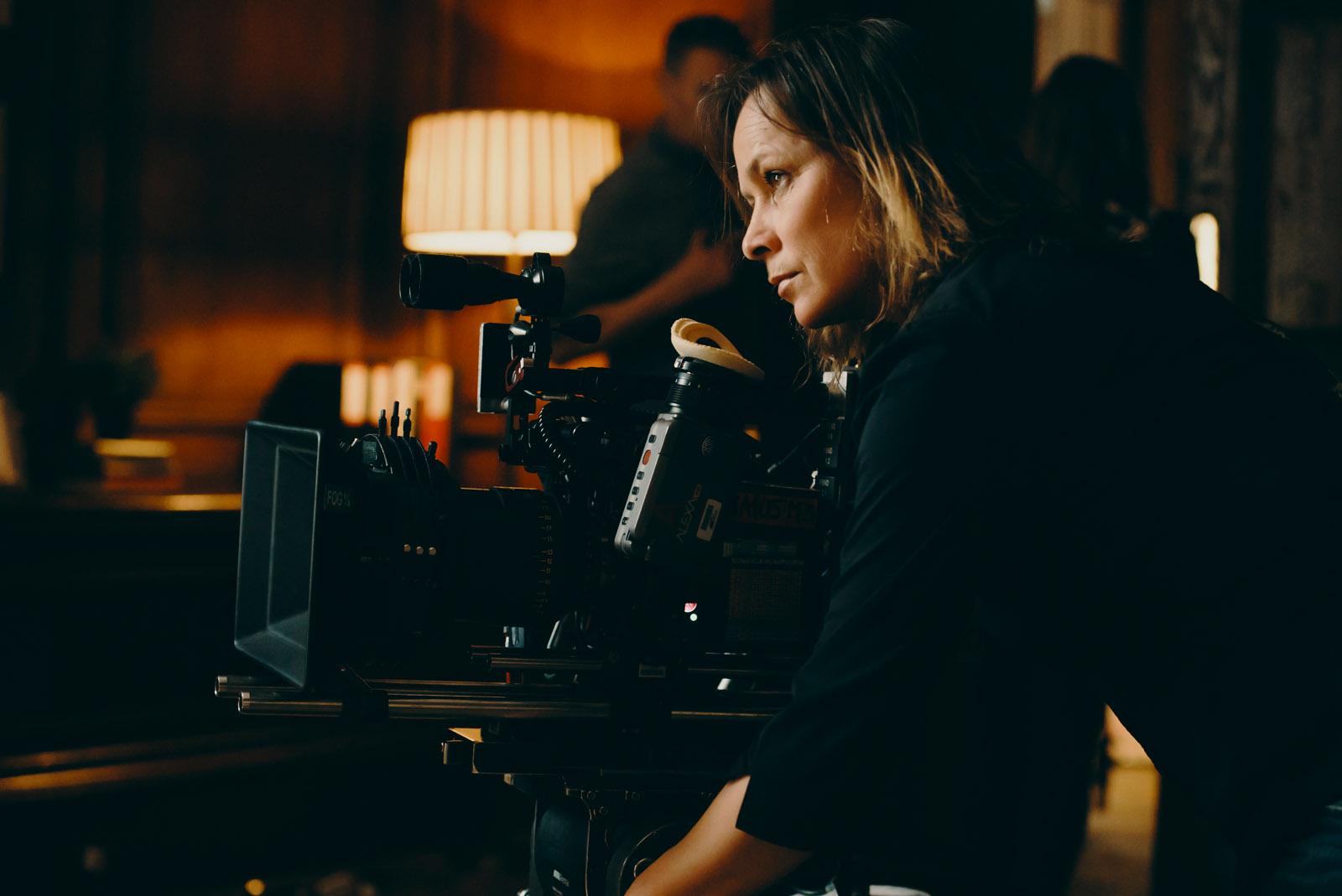 Cinematographer Oona Menges - Behind the scenes - London - photo credit Ashley Kingsbury
