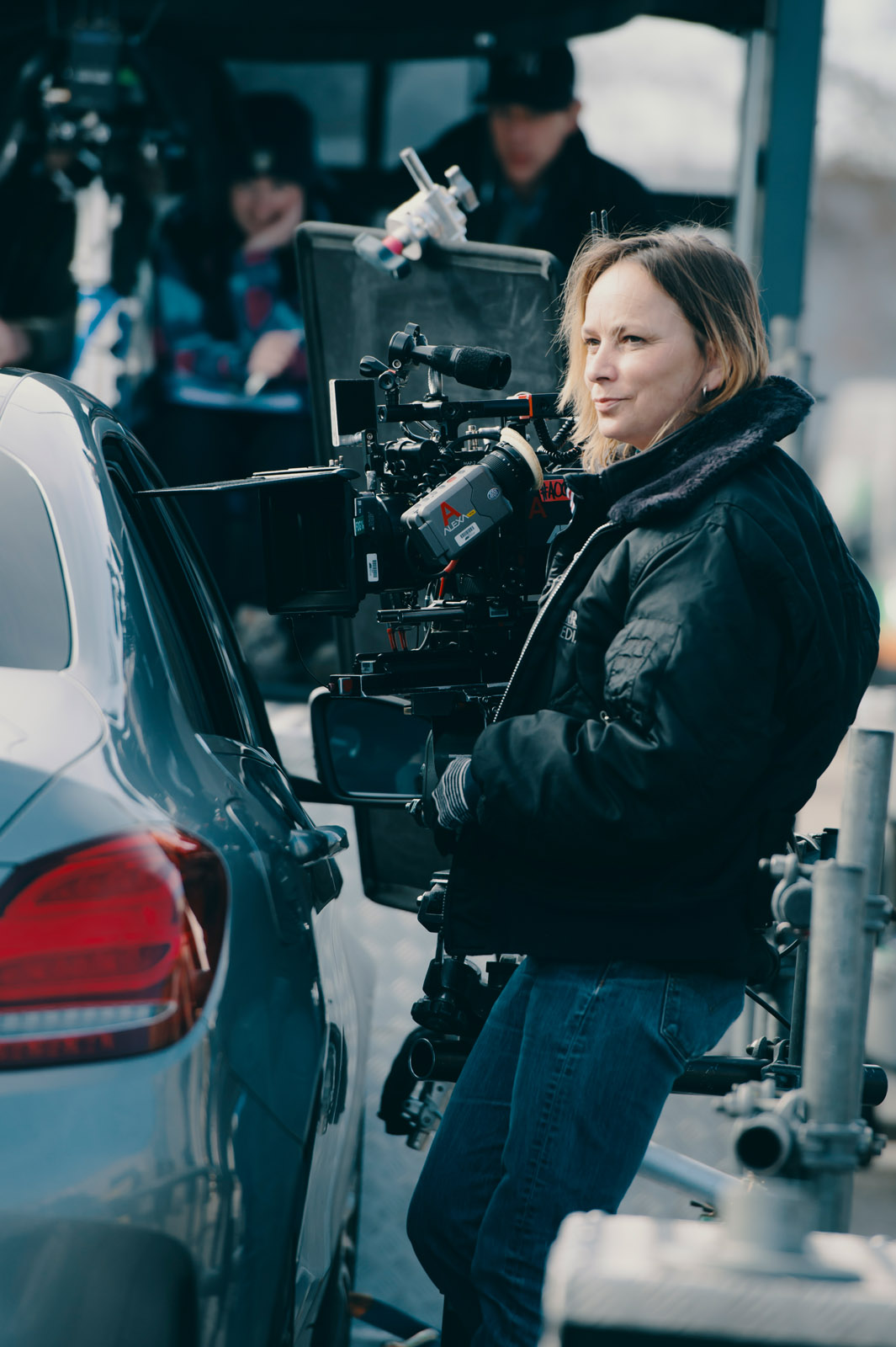 Cinematographer Oona Menges - Behind the scenes - Low Loader - Amsterdam, Color - photo credit Ashley Kingsbury