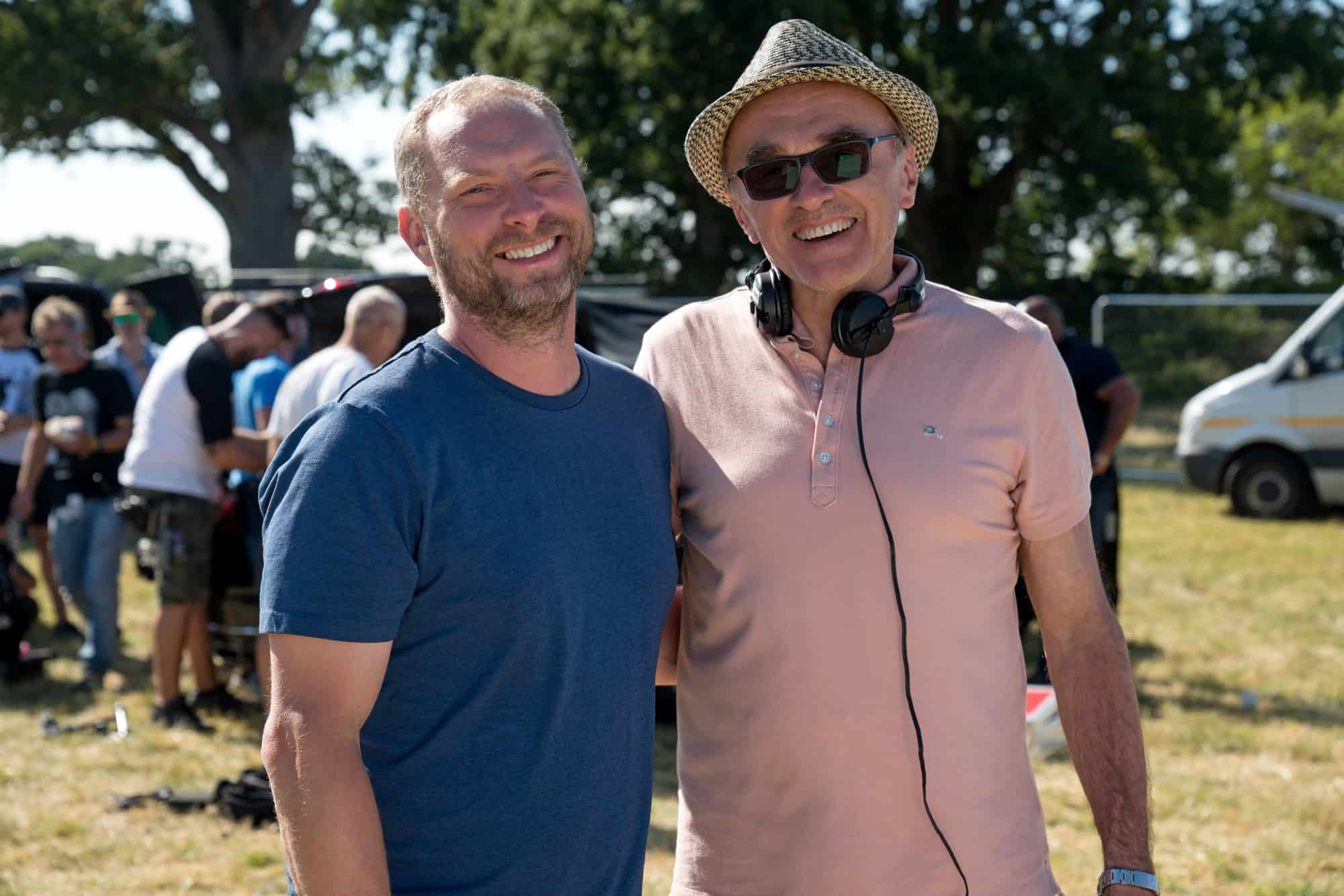 DP Christopher Ross BSC and Director Danny Boyle