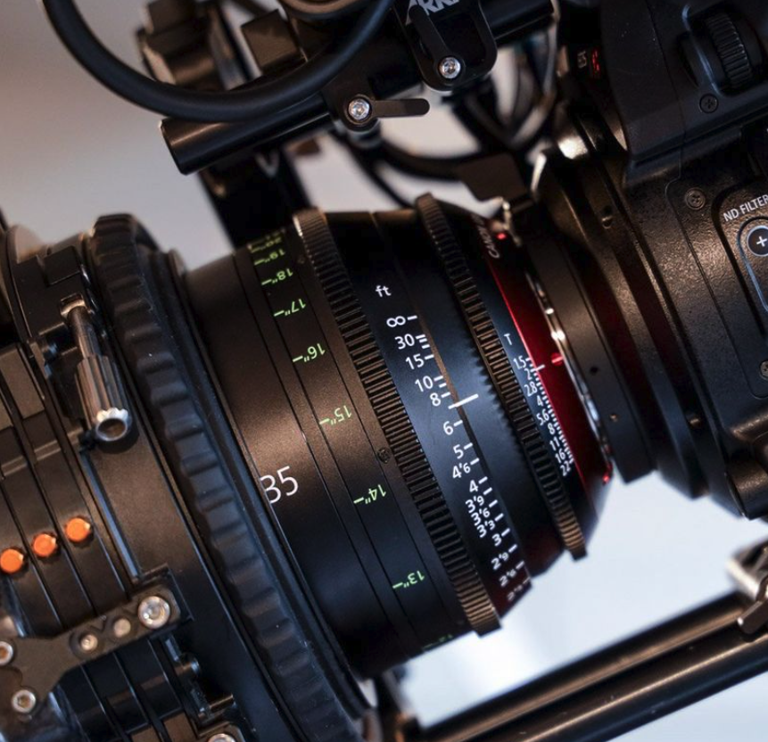 Canon's Sumire lenses which were used to capture HBO Max docudrama series Legendary