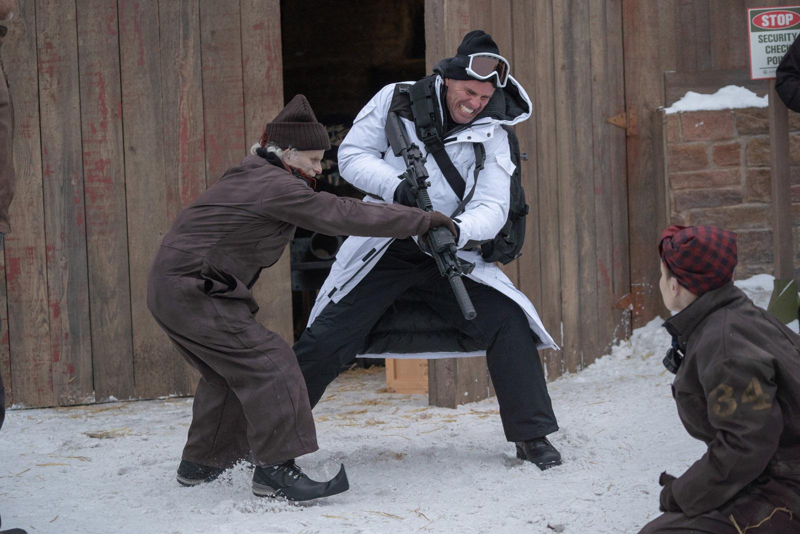 Fatman was shot in Ottawa by DP Johnny Derango