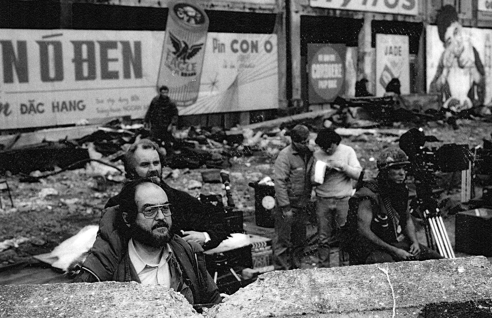 Doug Milsome BSC and Stanley Kubrick 3