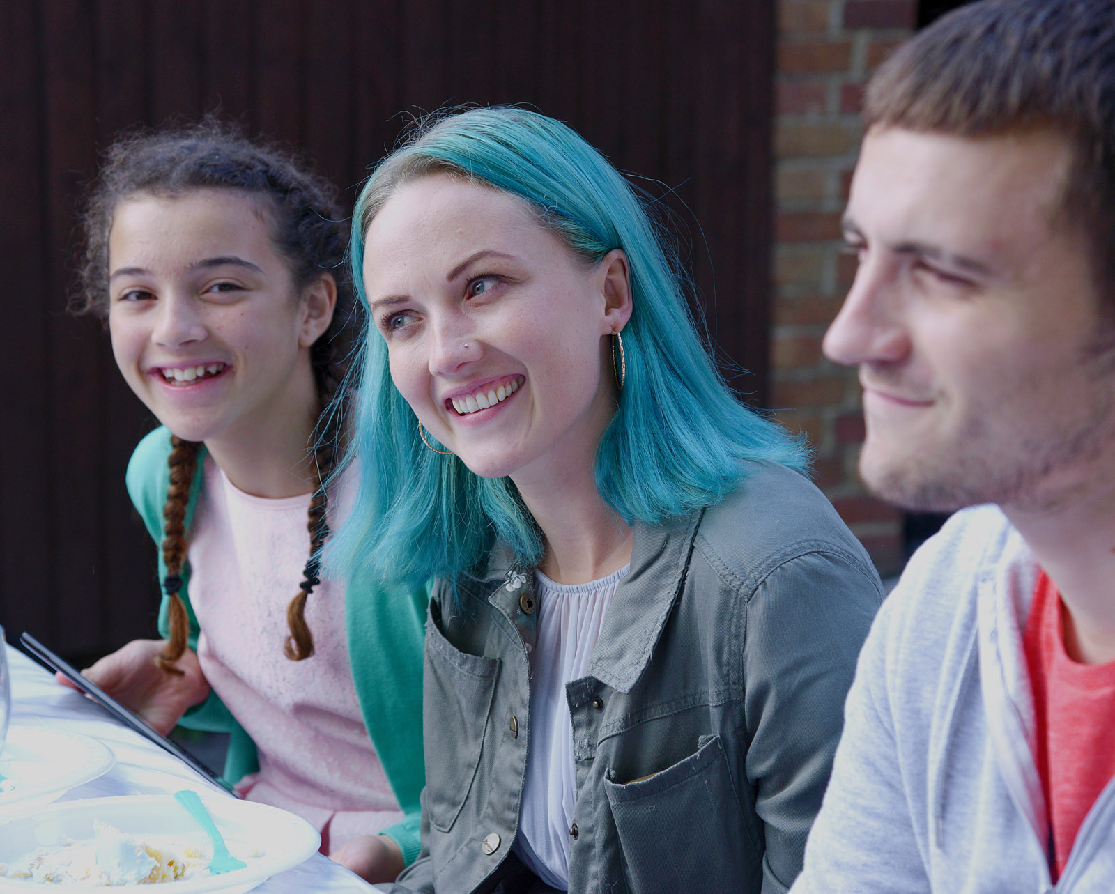 Nichola Burley (centre) is Lucy in LYNN + LUCY - A BFI RELEASE_crop_w3000
