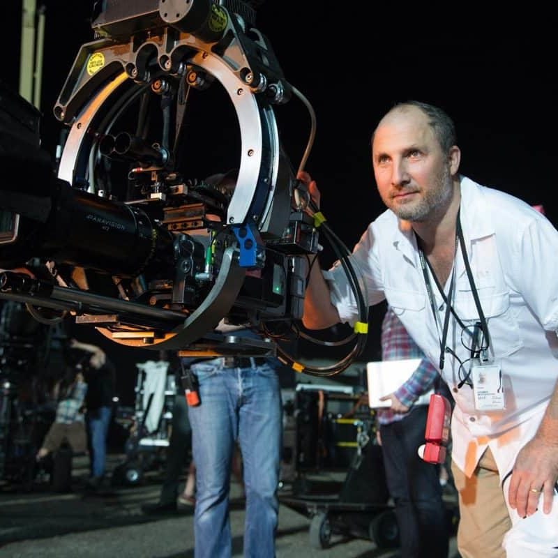 Director of Photography Kramer Morgenthau on the set of Terminator Genisys from Paramount Pictures and Skydance Productions.