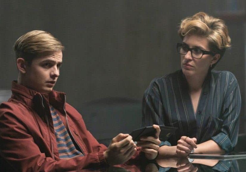 Otto Farrant & Vicky McClure in Alex Rider (image credit Amazon Prime Video)