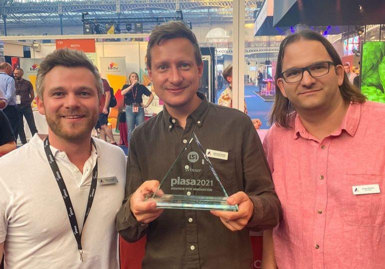 Astera PLASA 2021 Innovation Award