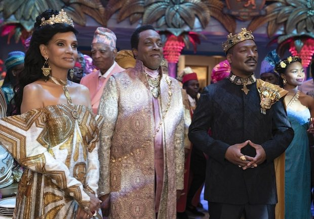 Shari Headley, Arsenio Hall and Eddie Murphy star in COMING 2 AMERICA  Photo: Annette Brown © 2020 Paramount Pictures