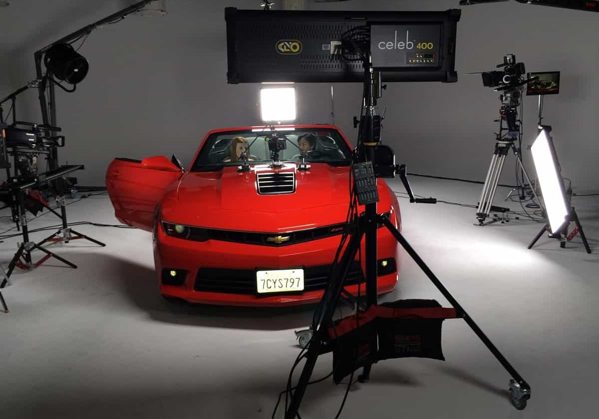 Car Commercial Set with Celeb 200s, 400s, and 400Qs 2014