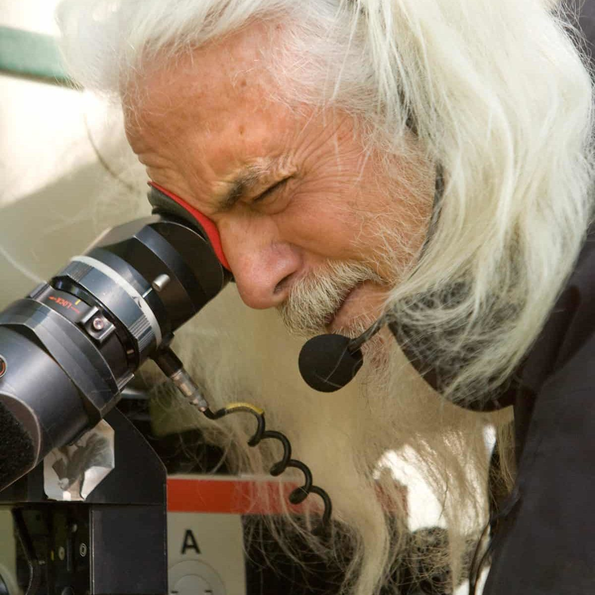 Cinematographer ROBERT RICHARDSON on the set of DJANGO UNCHAINED Photo: Andrew Cooper, SMPSP © 2012 The Weinstein Company.