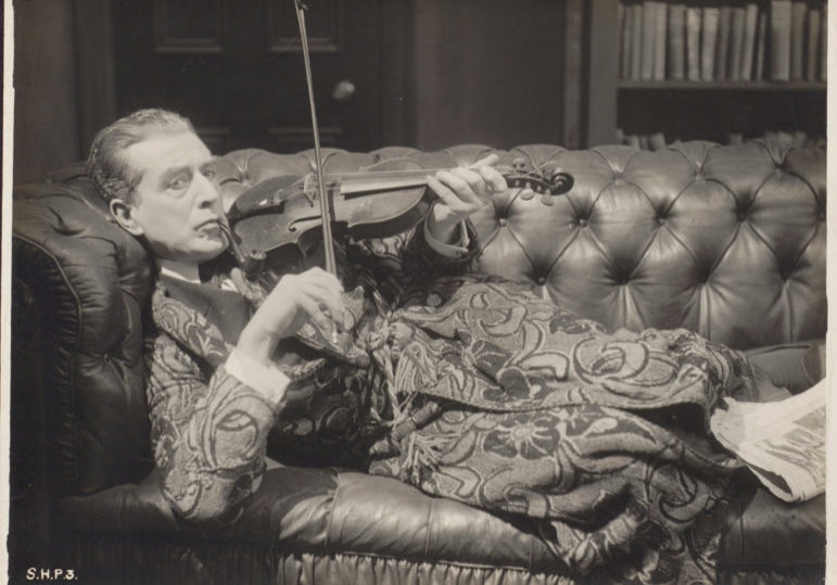 Eille Norwood as Sherlock Holmes in The Sign of Four (1923) source BFI National Archive_m1965920