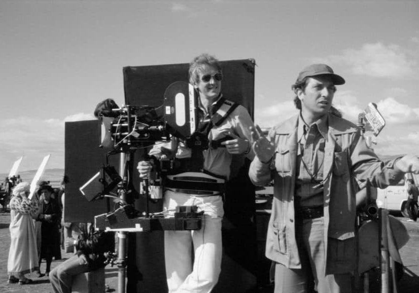 American epic... pictured on Reds with cinematographer Vittorio Storaro AIC ASC
