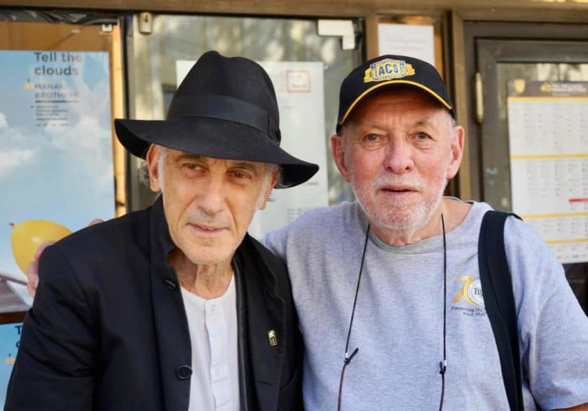 Ed Lachman ASC and Nigel Walters BSC after their very popular masterclass at the festival. Photo by Paul René Roestad