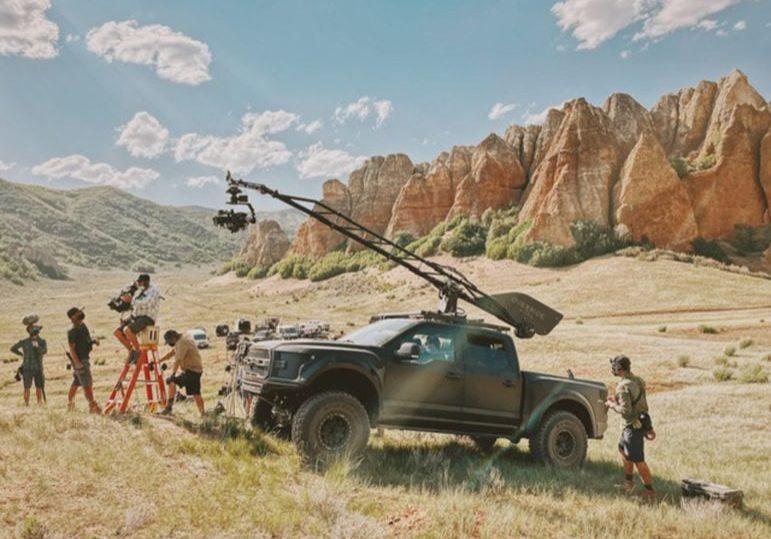 Override Films on location