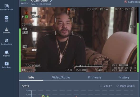 Screenshot of DJ Envy on Core from Sheldon's Macbook Pro