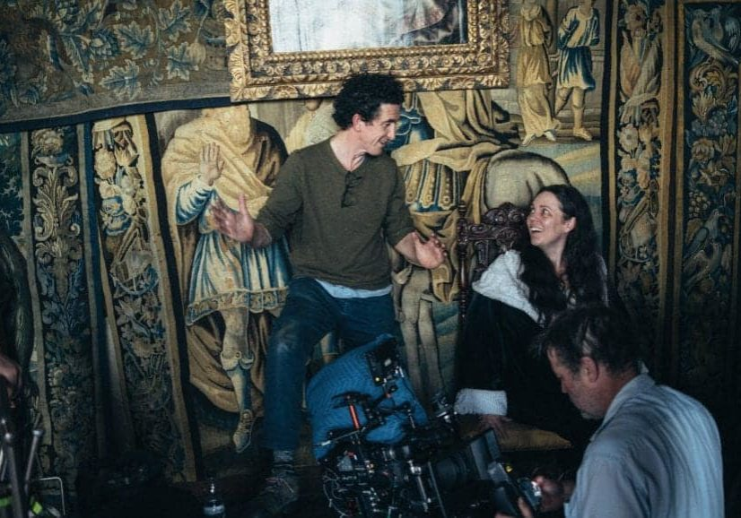 Robbie Ryan BSC ISC on the set of <em>The Favourite</em>