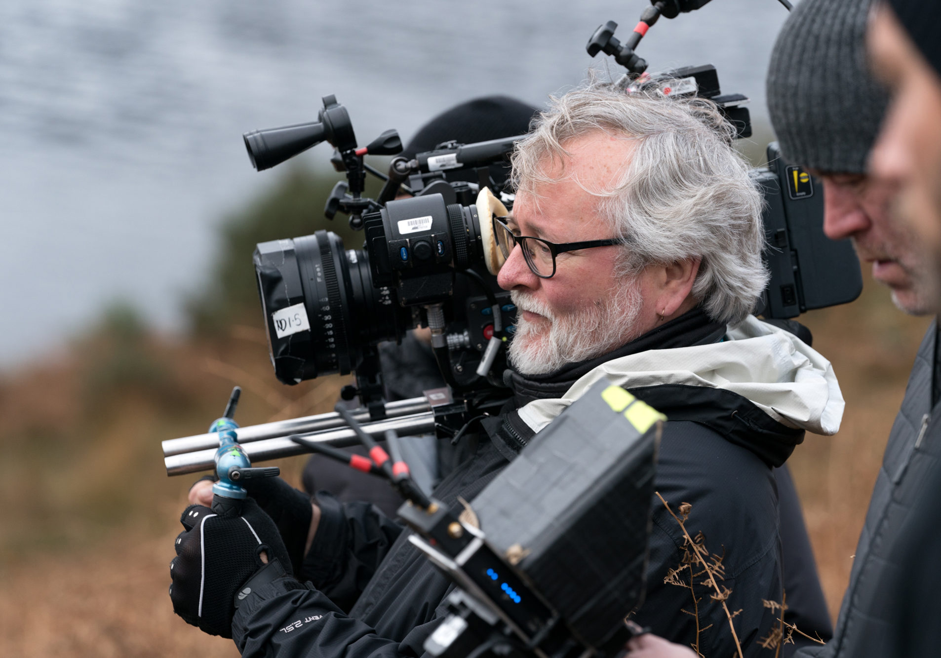 """Director of Photography Sean Bobbitt on the set of Paramount Pictures' """"The Rhythm Section."""""""