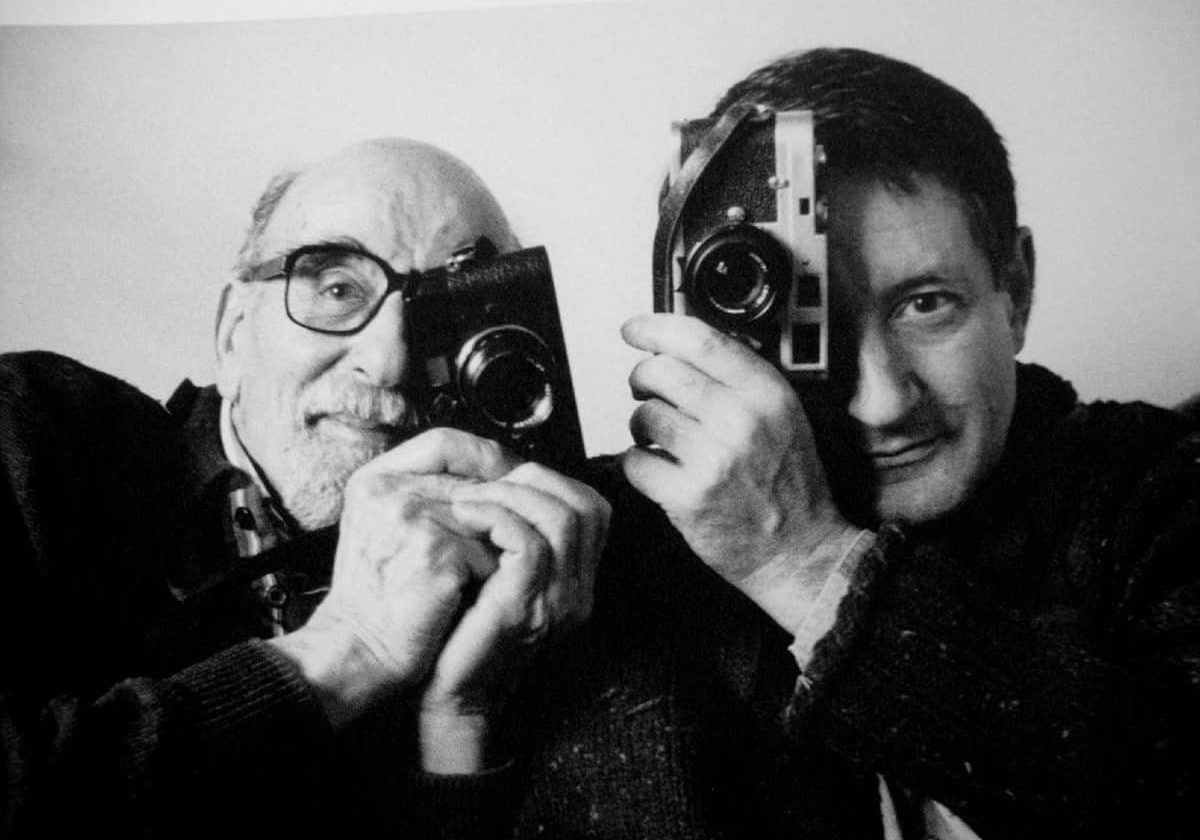 Wolfgang and his son, Peter Suschitzky ASC