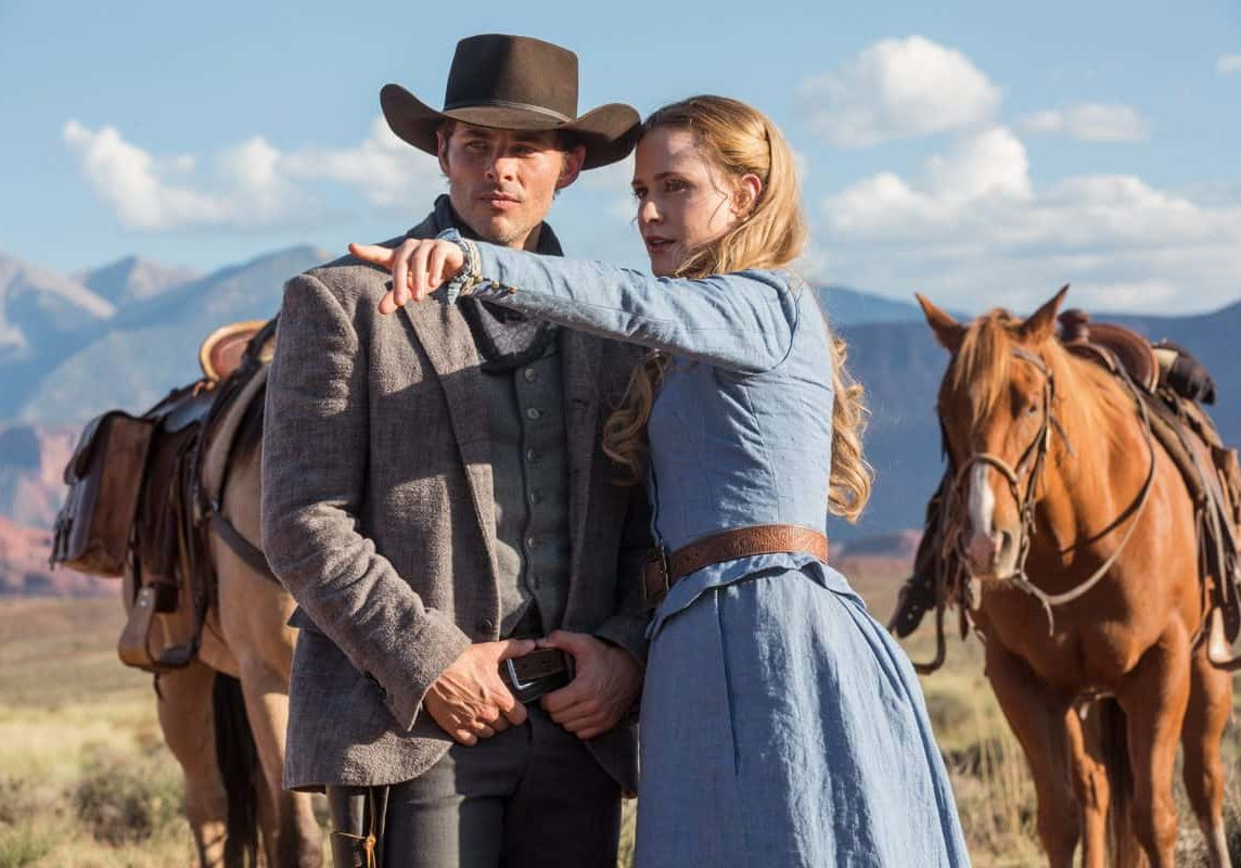 James Marsden as Teddy and  Evan Rachel Wood as Dolores