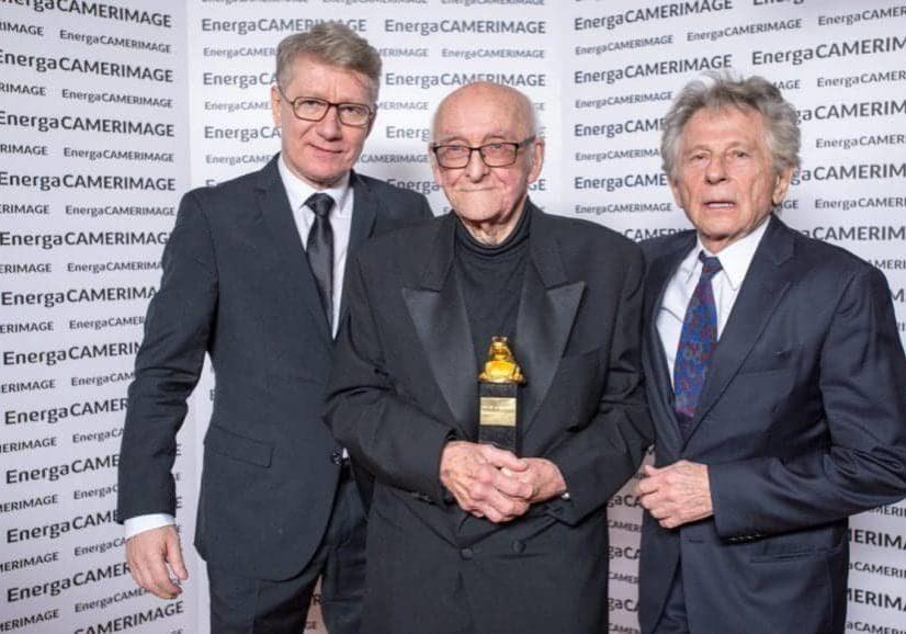 Marek Żydowicz, Witold Sobociński, Roman Polański. Photo by Paweł Skraba